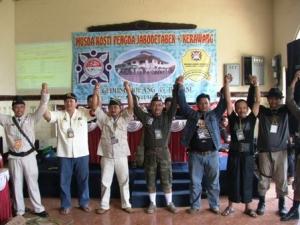 Pengurus terpilih Hasil Musda Jabodetabek & Karawang