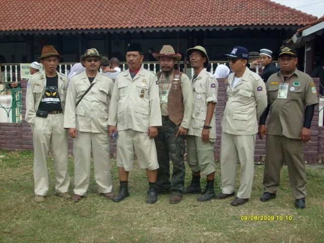 Ontelis didalam Masjid Agung Banten Lama