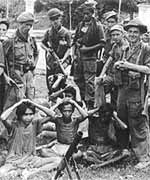 Para pejuang kita yang ditawan Penjajah Belanda di Rawa Gede Karawang