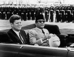 Presiden Sukarno dan Presiden AS, Kennedy